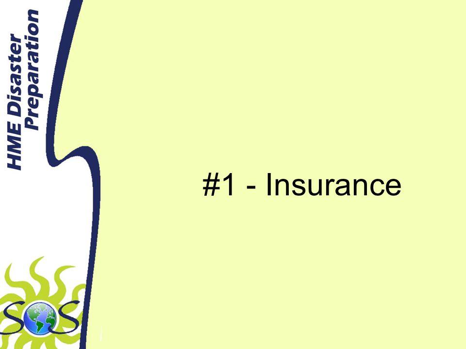 #1 - Insurance