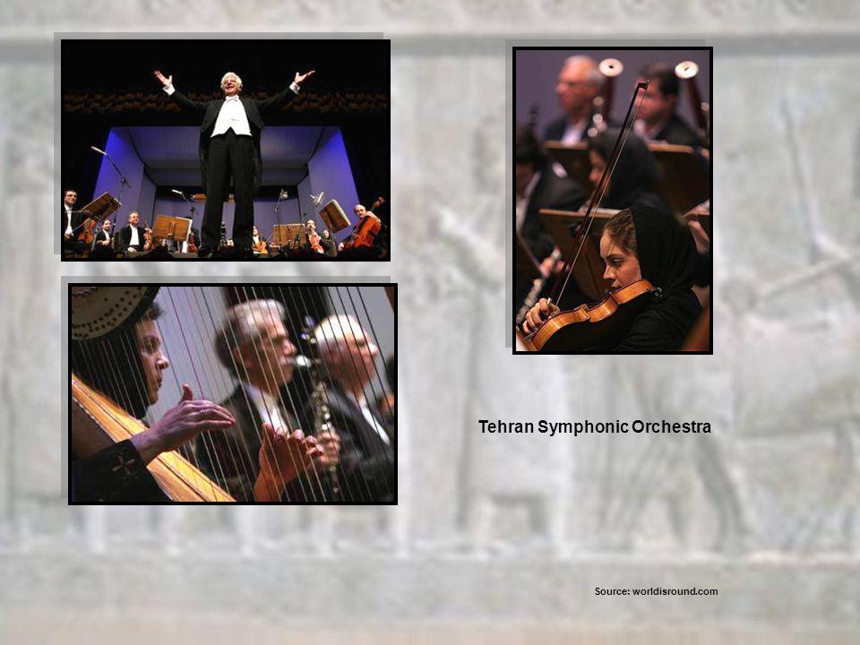 Tehran Symphonic Orchestra Source: worldisround.com