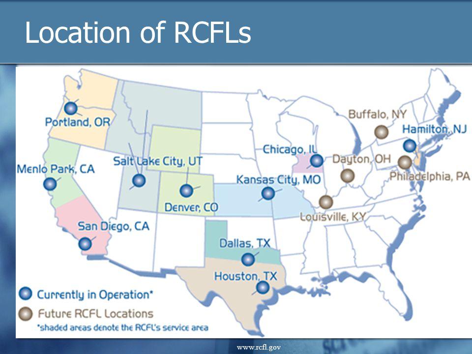 www.rcfl.gov Location of RCFLs www.rcfl.gov