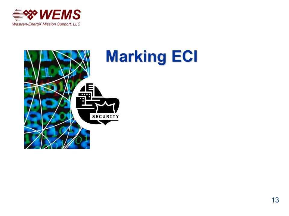 Marking ECI 13