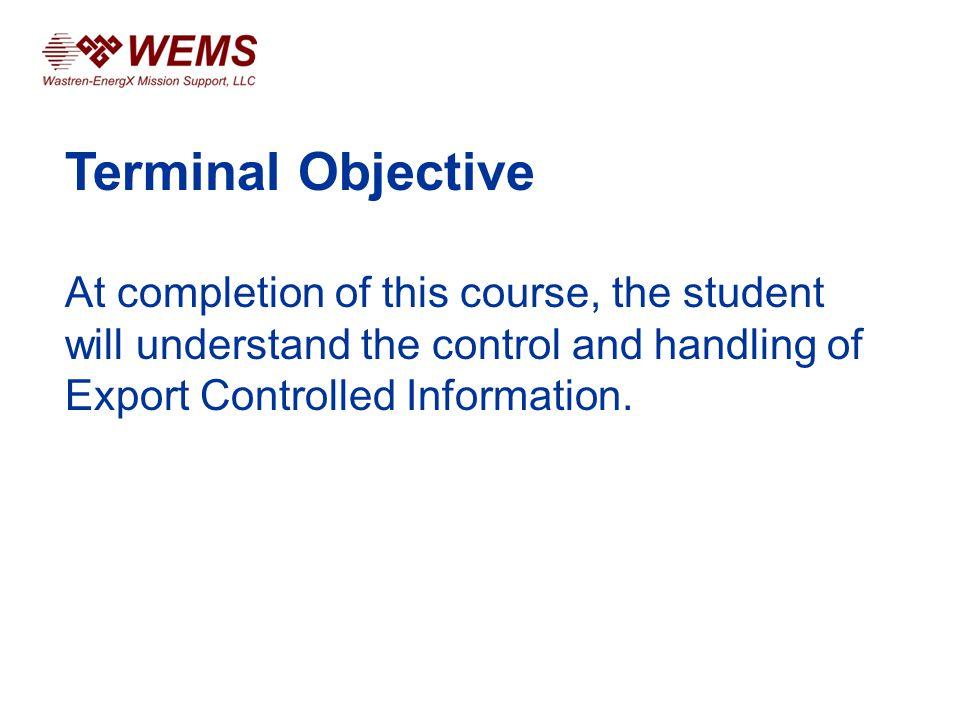 Export Control US/Foreign Person Matrix, cont.