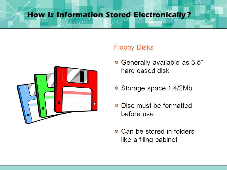 Storage medium provided with the computer Storage capacity of hard disk drives is quoted in Gb (Gigabytes)
