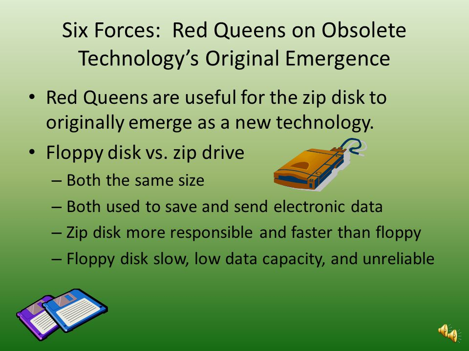 Six Forces: Increasing Returns on Emerging Technology I found no increase returns on emerging technology for the flash drive. It seems to be the only