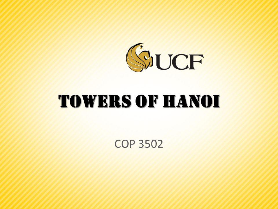 Towers of Hanoi COP 3502
