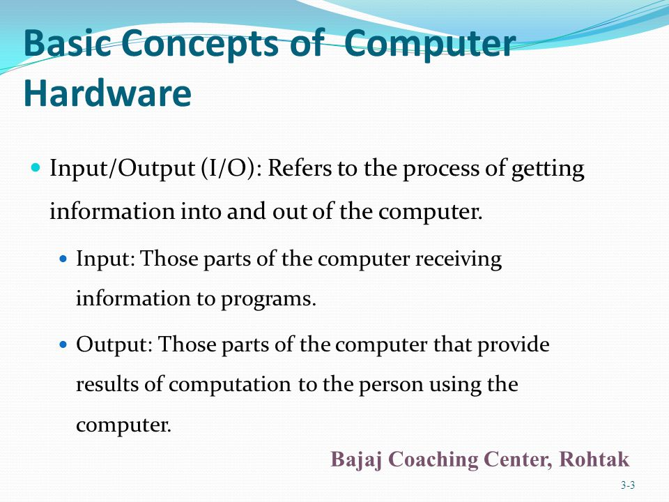 Sources of Data for the Computer Two types of data stored within a computer: Original data or information: Data being introduced to a computing system for the first time.