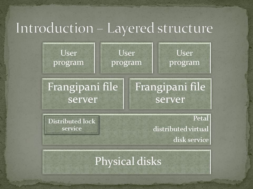 Is Frangipani scalable to the large network environment.
