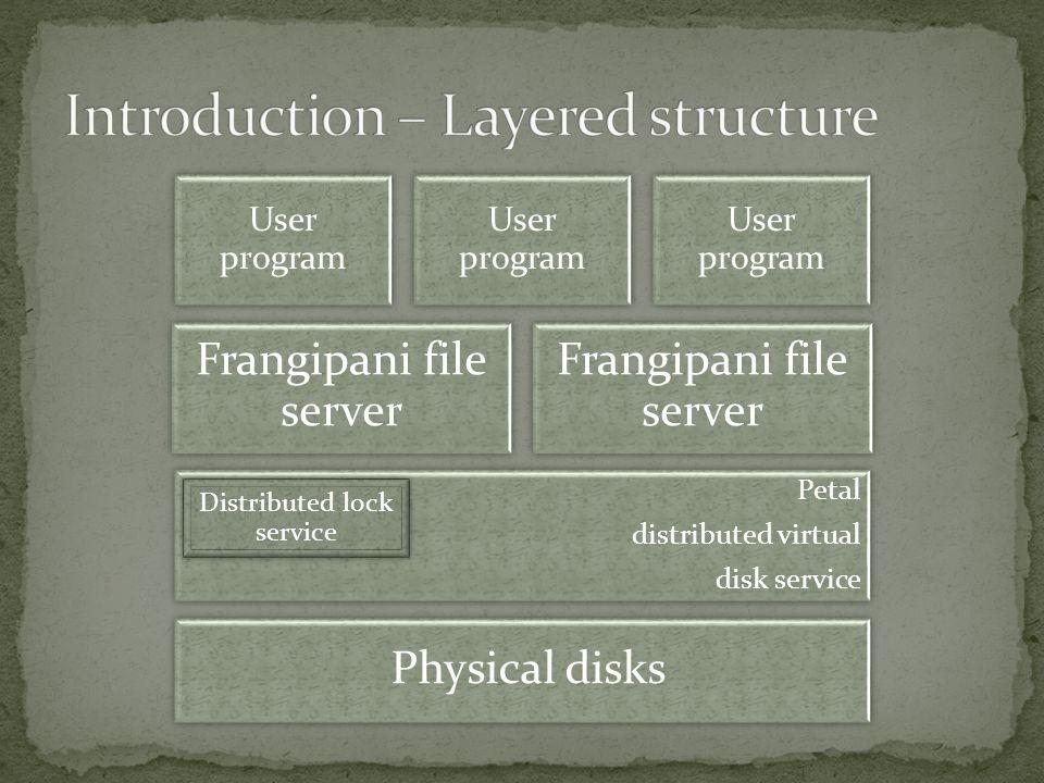 Frangipani Scaling on Modified Andrew Benchmark Elapsed time (secs) Frangipani Machines