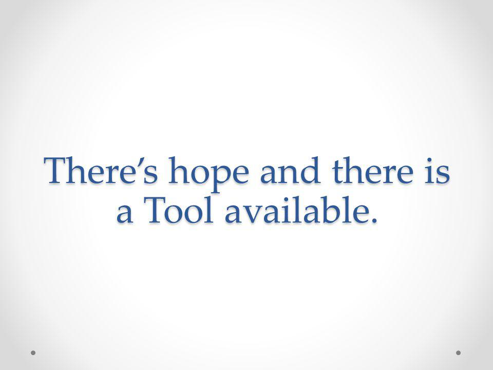 Theres hope and there is a Tool available.