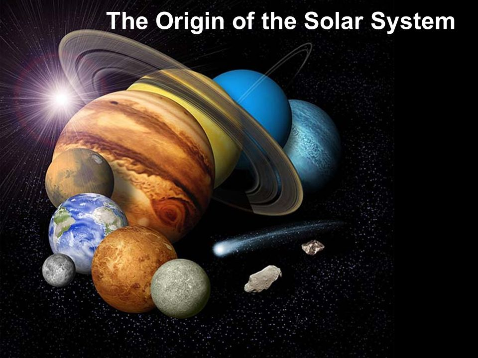 The Overall Layout of the Solar System All orbits but Plutos are close to same plane