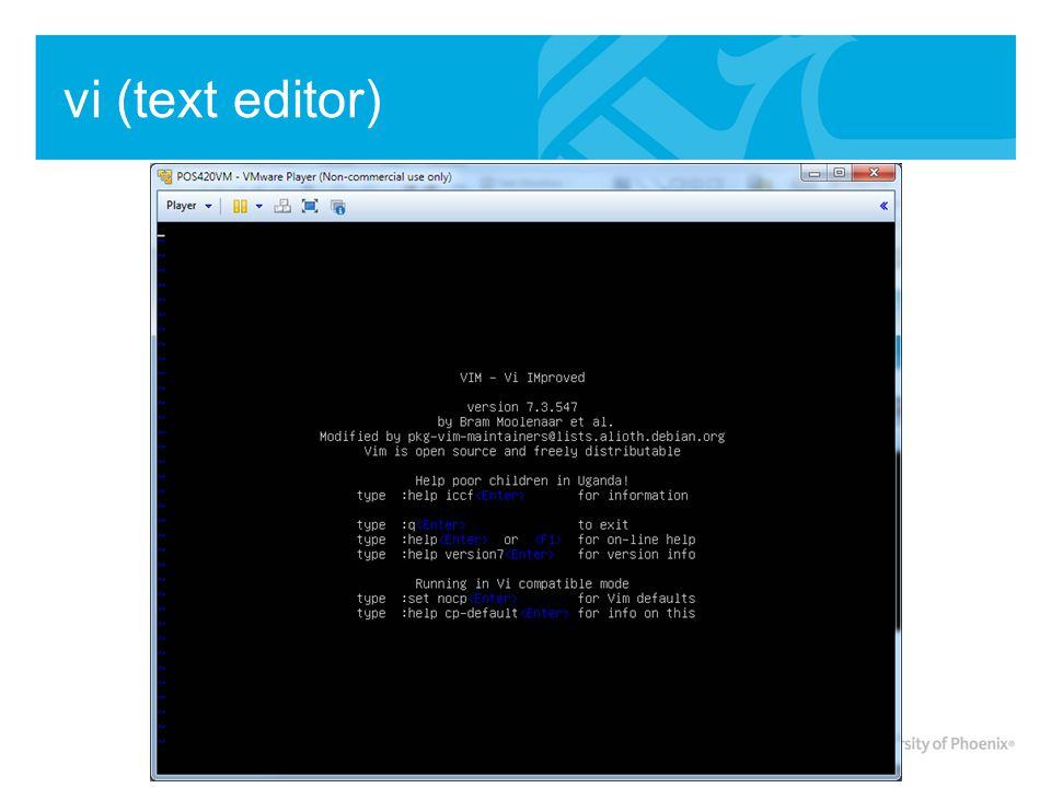vi (text editor)