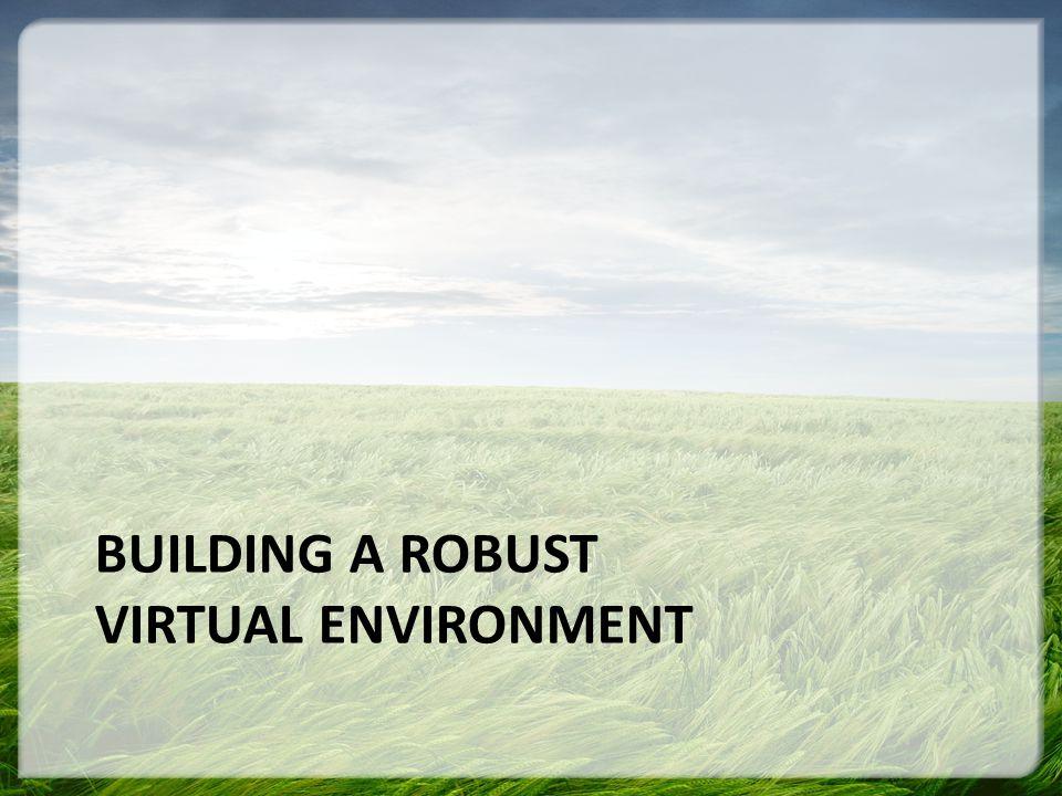 BUILDING A ROBUST VIRTUAL ENVIRONMENT