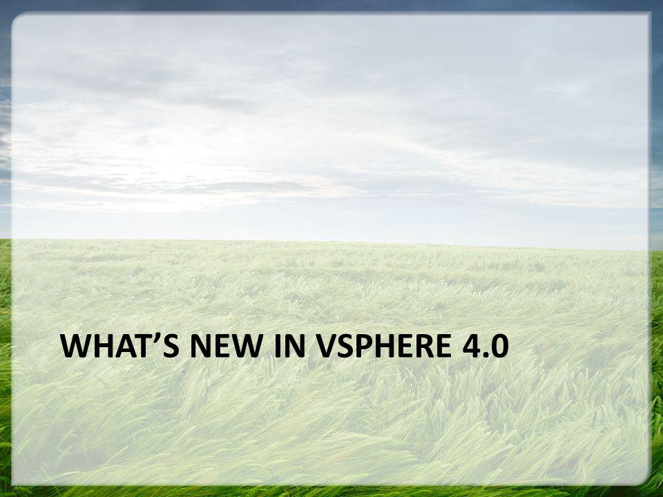 VMware Name Changes Old NameNew Name VMware InfrastructureVMware vSphere VMFSVMware vStorage VMFS VMware Consolidated Backup (VCB)VMware vStorage APIs for Data Protection VMware VirtualCenterVMware vCenter VMware Update ManagerVMware vCenter Update Manager VMware Capacity ManagerVmware vCenter CapacityIQ VMware ConverterVMware vCenter Converter (integrated) VMware vCenter Converter Standalone VMware Lifecycle ManagerVMware vCenter Lifecycle Manager VMware Lab ManagerVMware vCenter Lab Manager VMware Stage ManagerVMware vCenter Stage Manager VMware Site Recovery Manager (SRM)VMware vCenter Site Recovery Manager VMware VI ToolkitVMware vSphere PowerCLI VADKVMware Studio