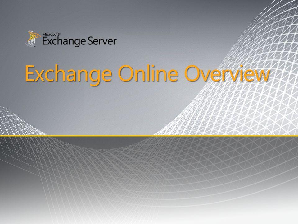 Exchange Online Overview