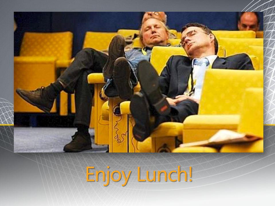 Enjoy Lunch!