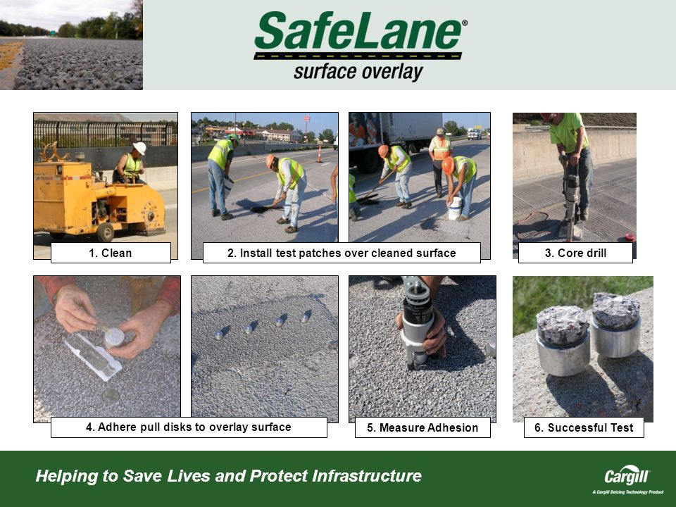 Helping to Save Lives and Protect Infrastructure 1.