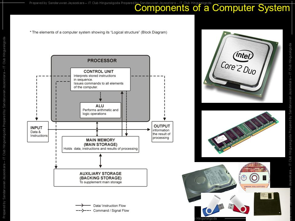 Components of a Computer System Input Devices Micro phoneDigital Camera