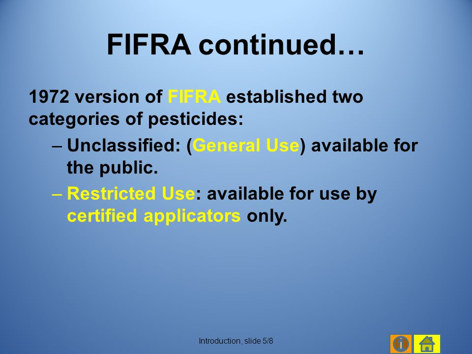The labels of pesticides used in applications carry specific restrictions on application rates and/or droplet size.