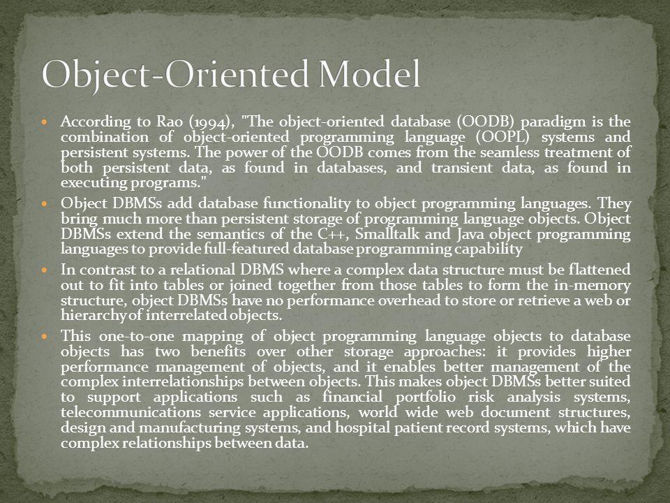 According to Rao (1994),