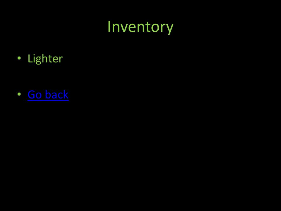 Inventory Lighter Go back