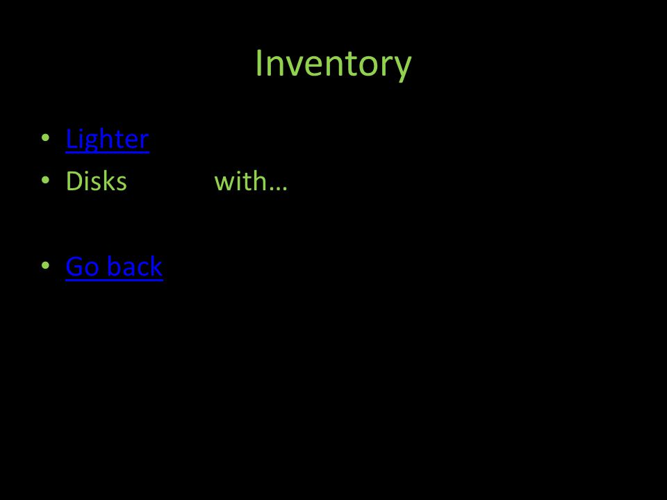 Inventory Lighter Disks with… Go back