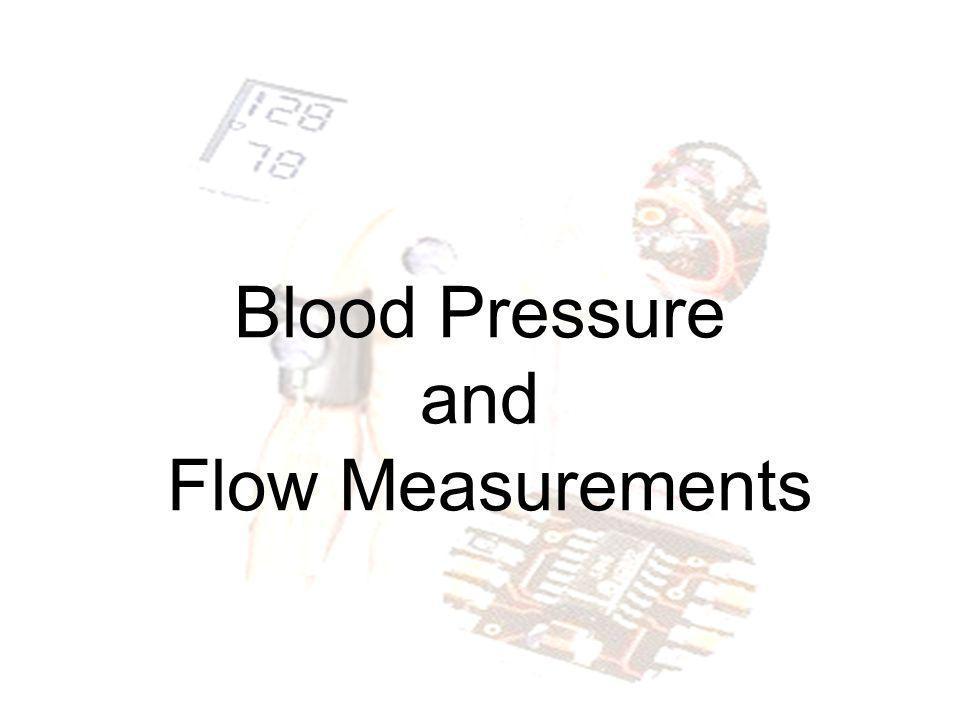 Doppler Measurements (5) Laser Doppler Flowmetry The principle of measurement is the same as with ultrasound Doppler The laser parameter may have e.g.