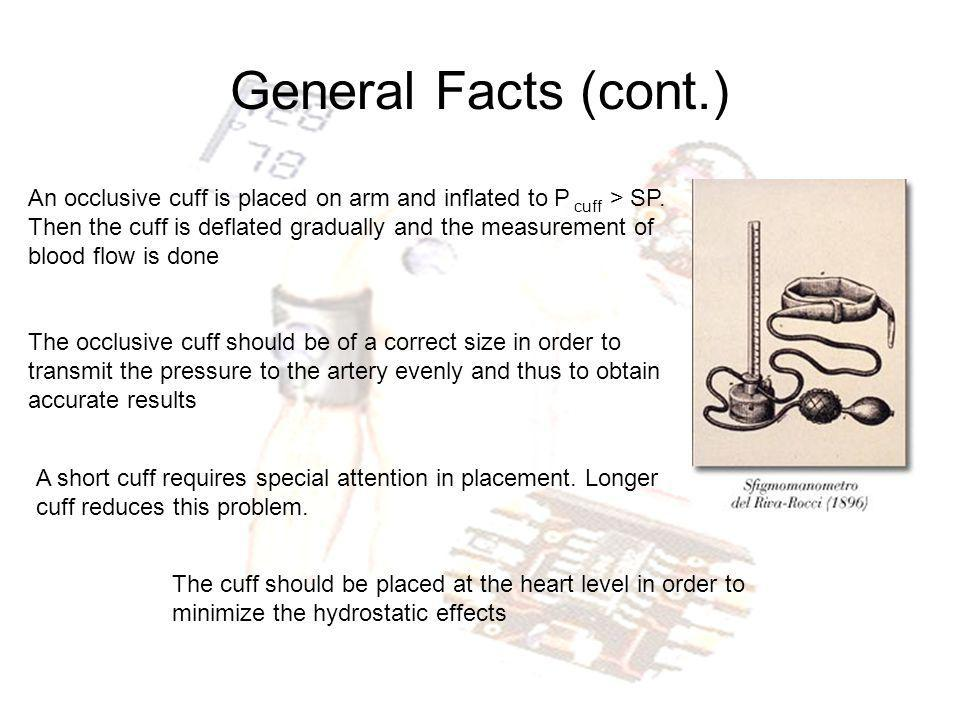 Palpatory Method (Riva-Rocci Method) When the cuff is deflated, there is a palpable pulse in the wrist.