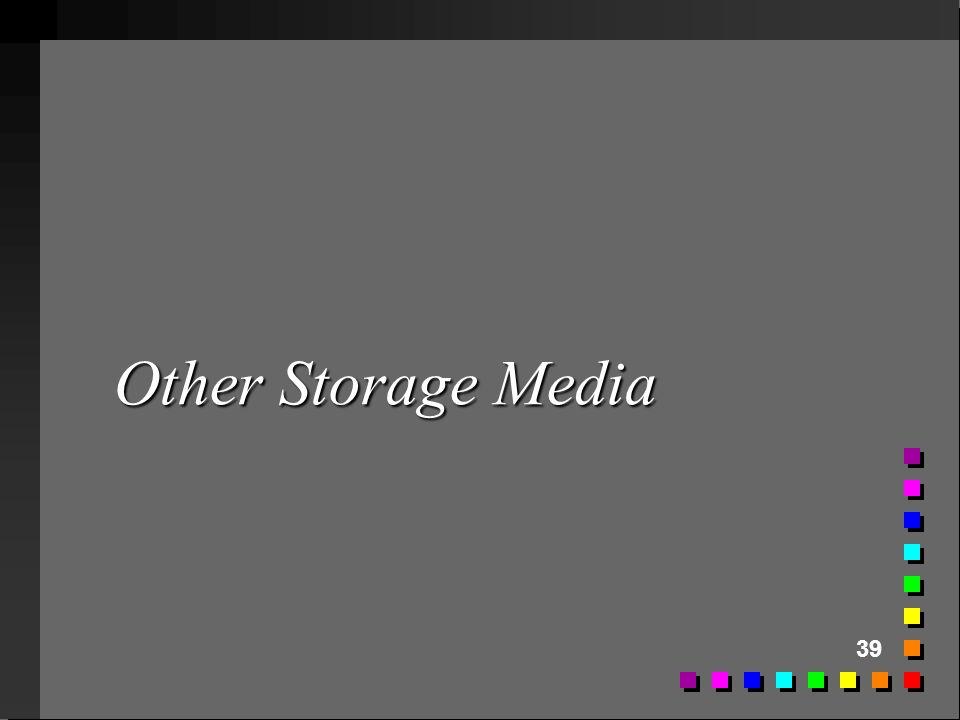39 Other Storage Media