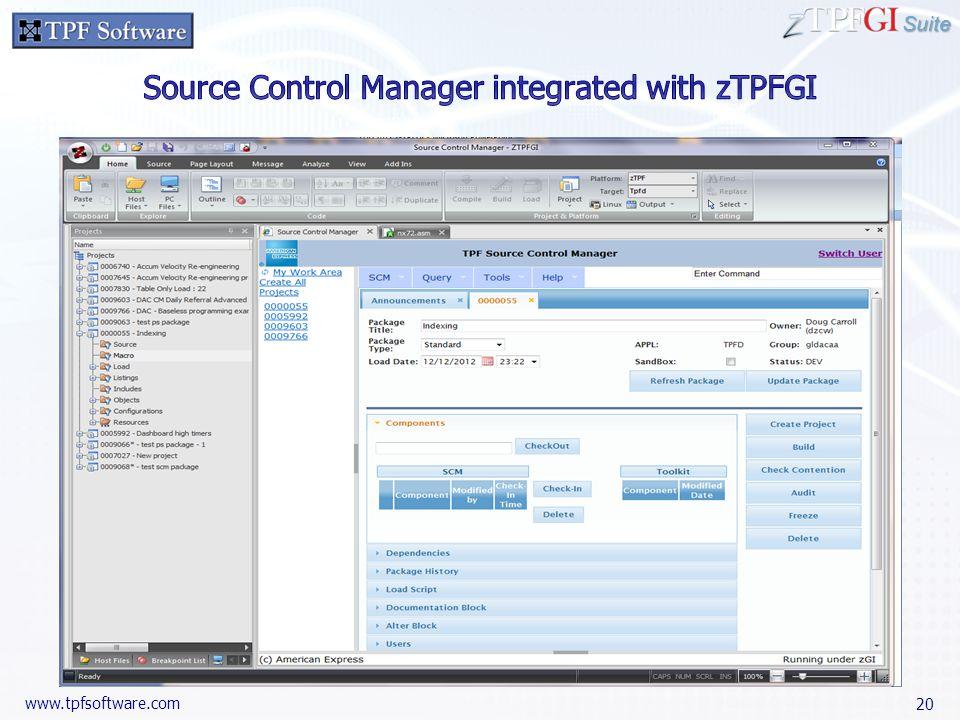 Suite www.tpfsoftware.com 20