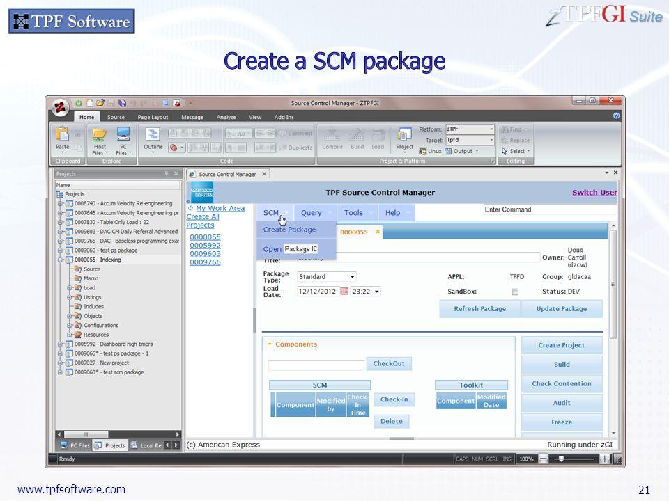 Suite www.tpfsoftware.com 21