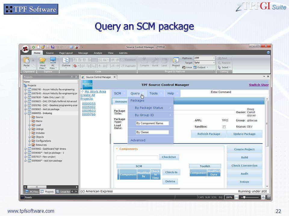 Suite www.tpfsoftware.com 22