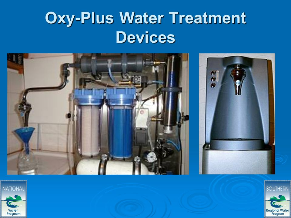 34 Oxy-Plus Water Treatment Devices