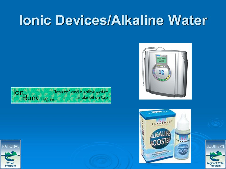 37 Ionic Devices/Alkaline Water