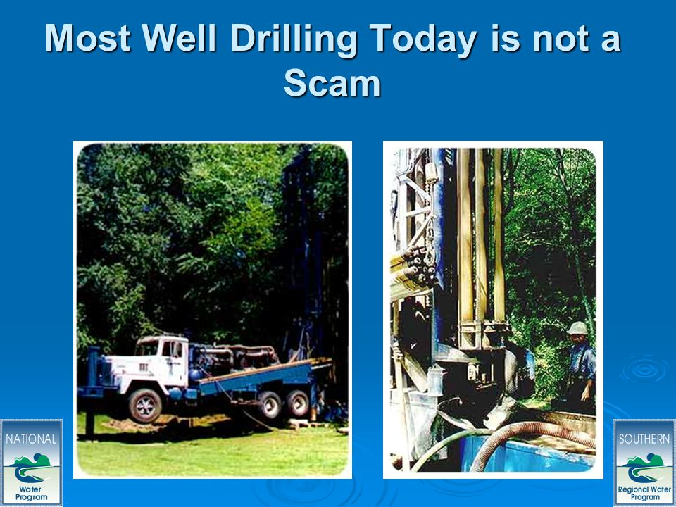 59 Most Well Drilling Today is not a Scam