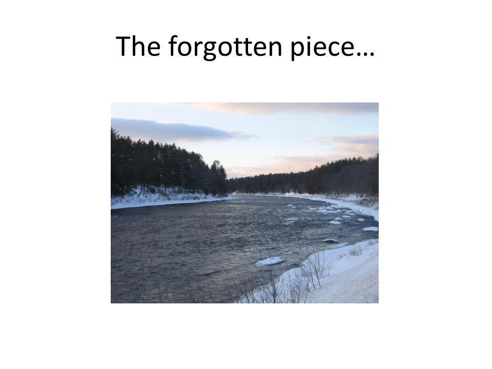 The forgotten piece…