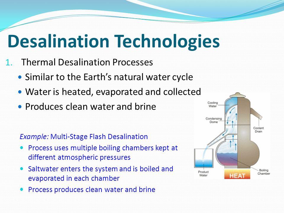 Desalination Technologies 2.