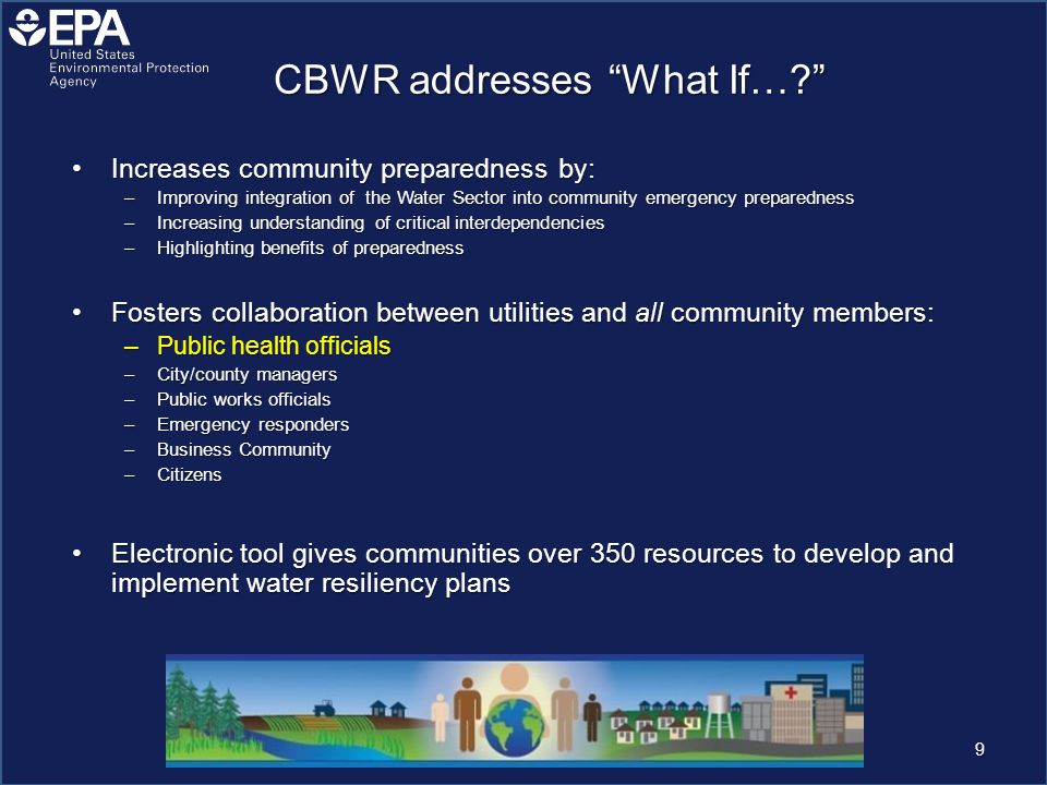 CBWR addresses What If….