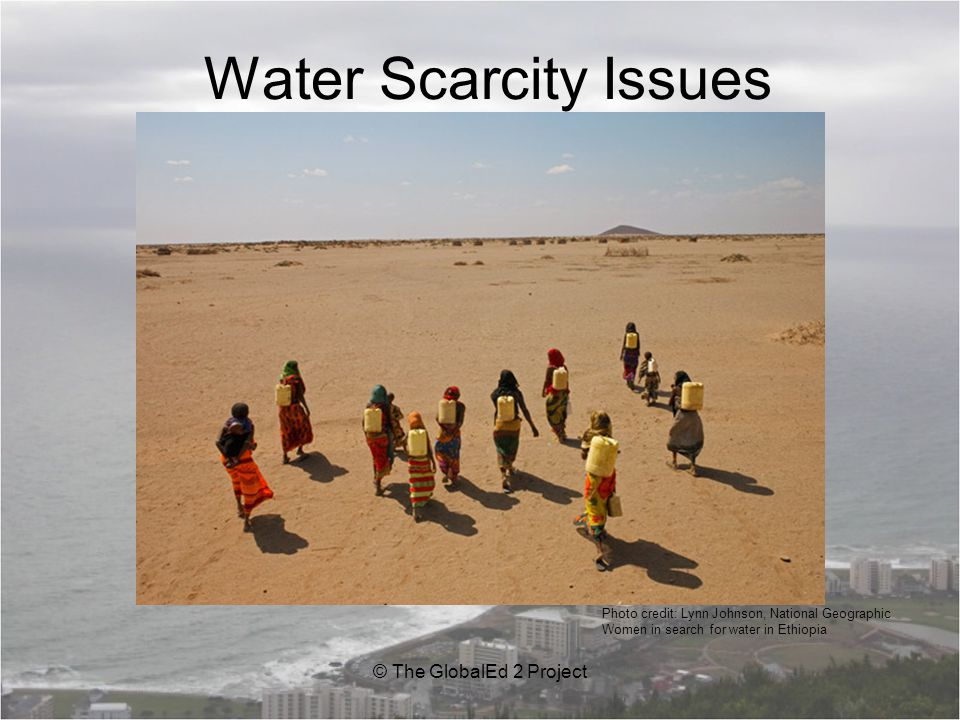 Essential Question: 1.What is water scarcity.