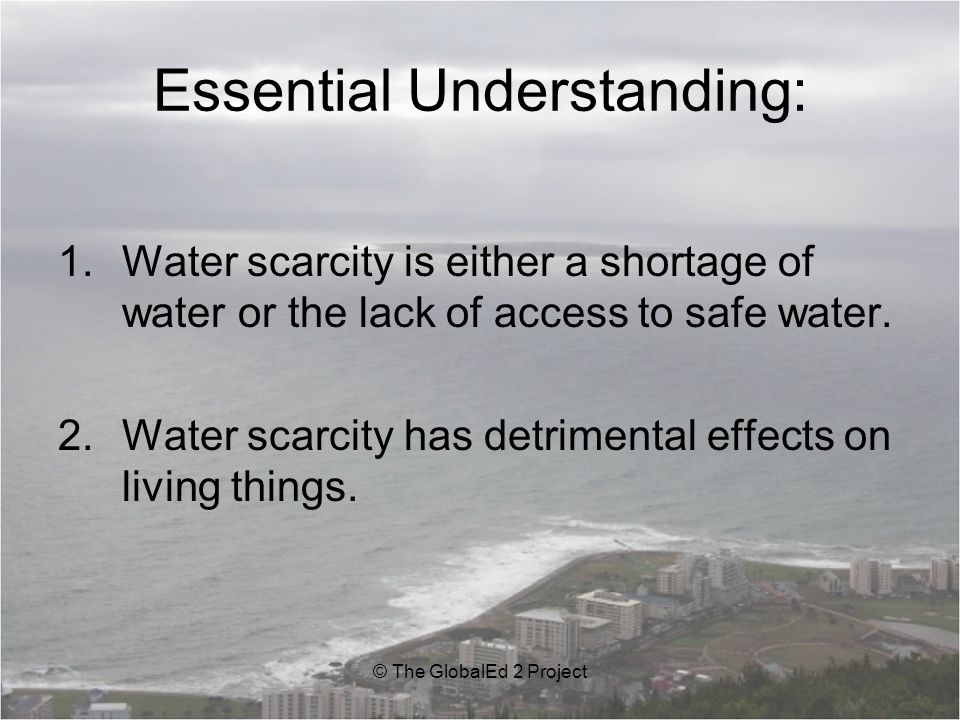 Key Facts: For many people in the developing world, water is a luxury.