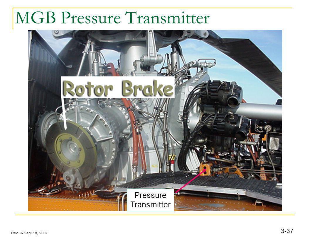 3-37 Rev. A Sept 18, 2007 MGB Pressure Transmitter Pressure Transmitter