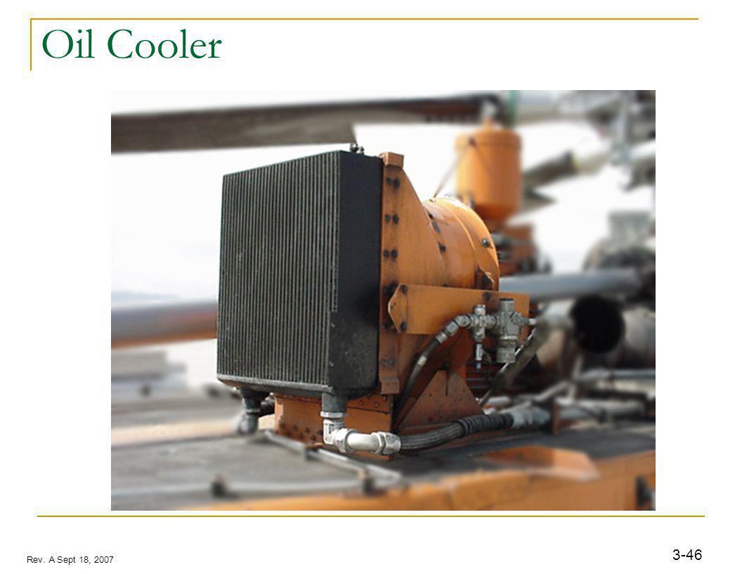 3-46 Rev. A Sept 18, 2007 Oil Cooler