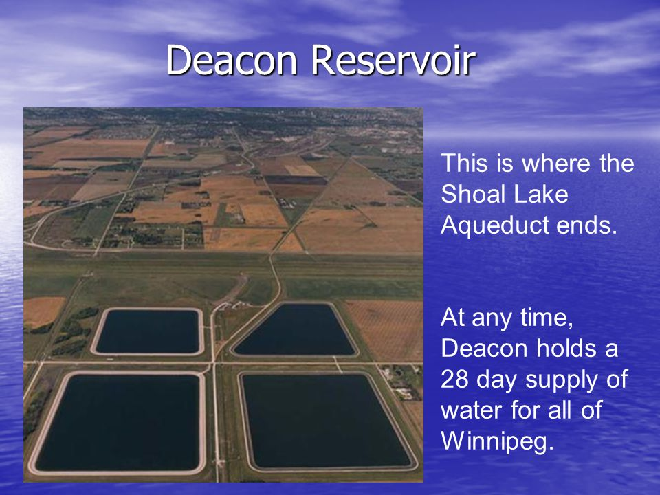 Which reservoir is your house closest to?