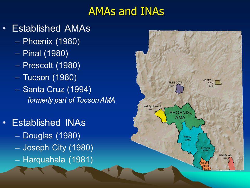 Arizona Department of Water Resources Phoenix Active Management Area 3550 N.
