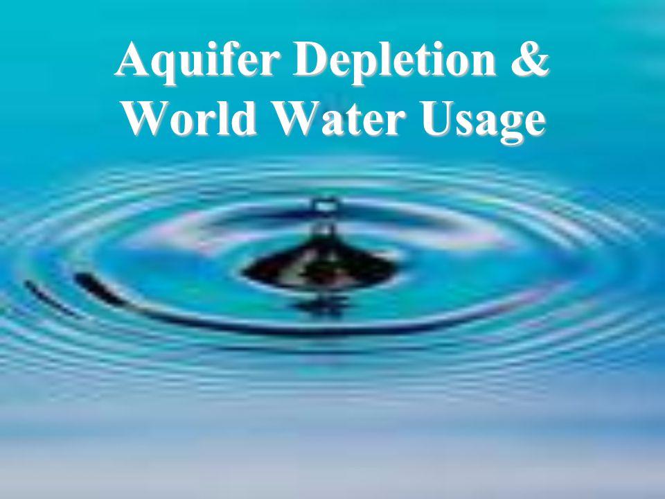 Aquifer Depletion in Waukesha, Wisconsin, USA, and Sanaa, Yemen