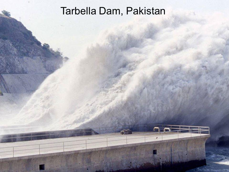 Tarbella Dam, Pakistan