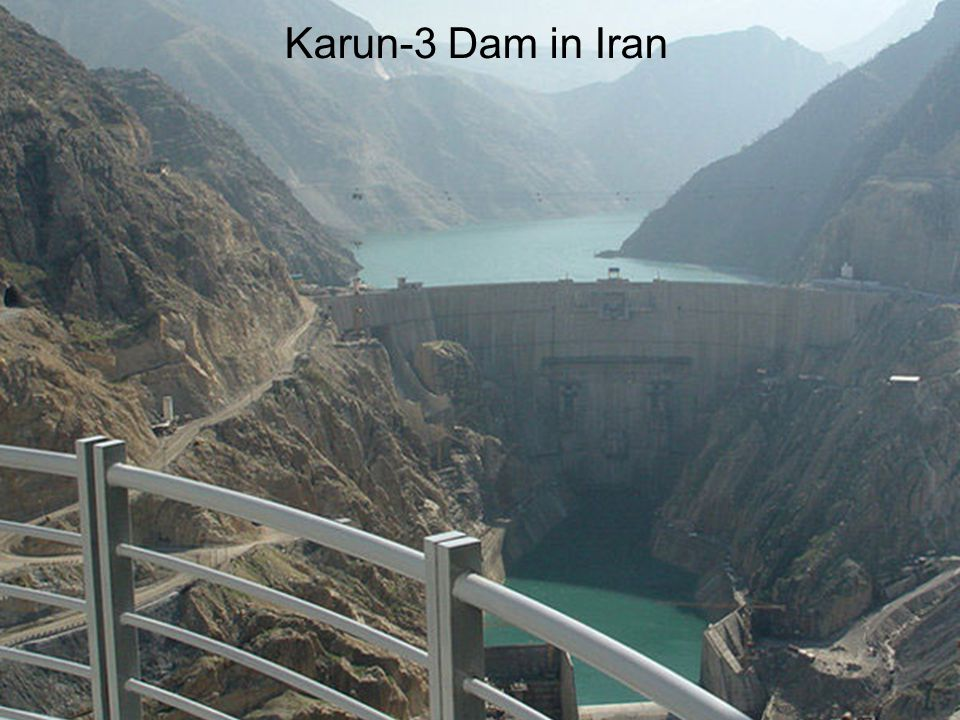Karun-3 Dam in Iran