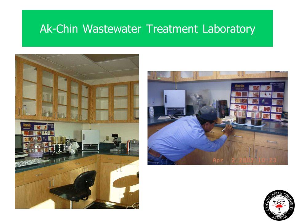 Ak-Chin Wastewater Treatment Laboratory