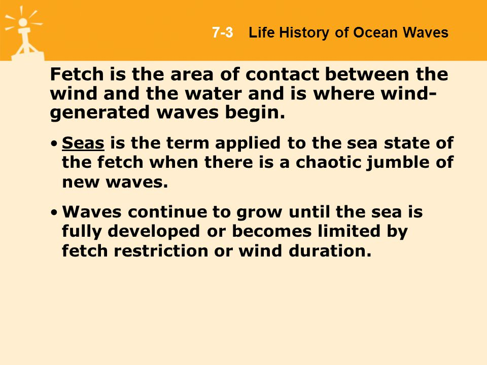 Chapter 7 waves in the ocean 2003 jones and bartlett publishers fetch is the area of contact between the wind and the water and is where wind sciox Gallery