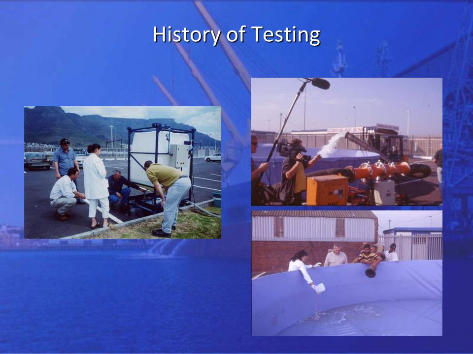 History of Testing