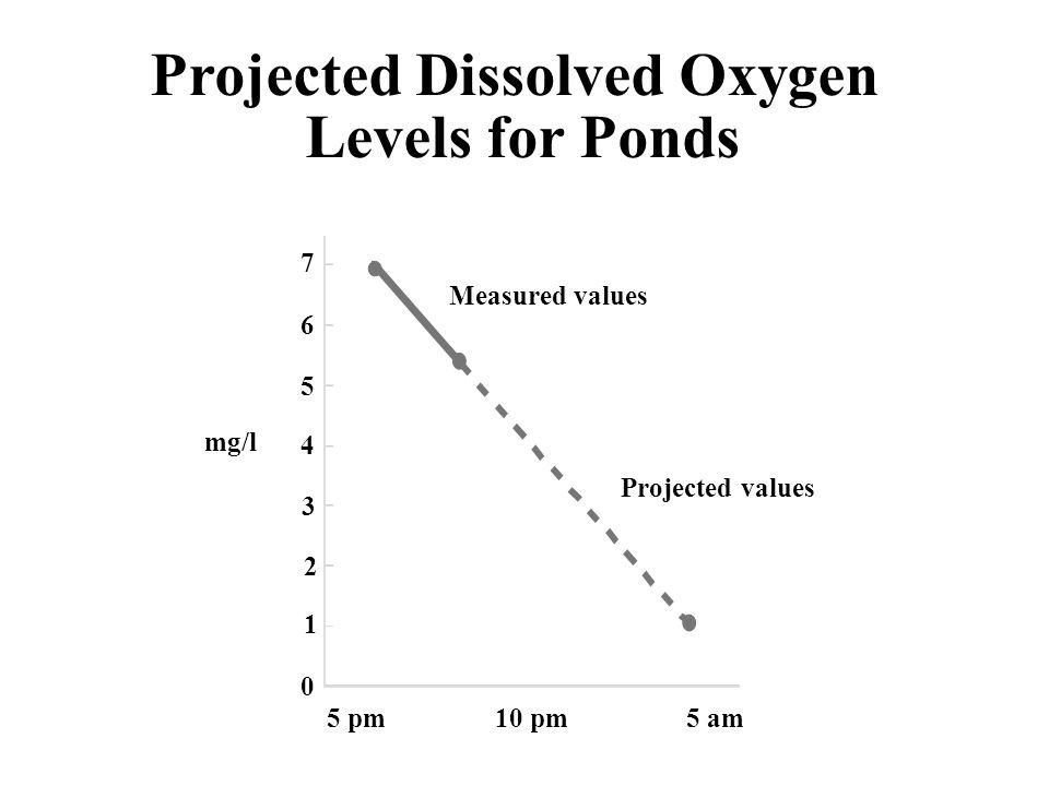 Uniform dissolved O in pond 2