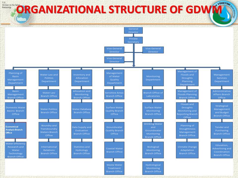ORGANIZATIONAL STRUCTURE OF GDWM